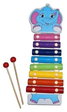 Ксилофон игрушечный Mapacha Веселые зверята 76628