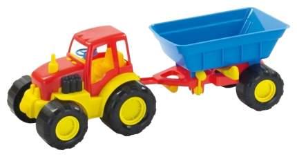Машинка пластиковая Zebratoys Трактор Active с прицепом 15-5229, в асс.