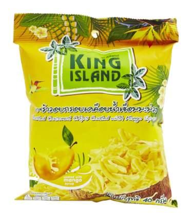 Кокосовые чипсы King Island с манго 40 г
