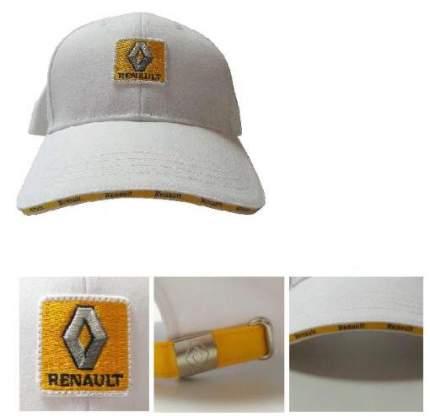 Бейсболка Renault Baseball Cap White, 7711546600