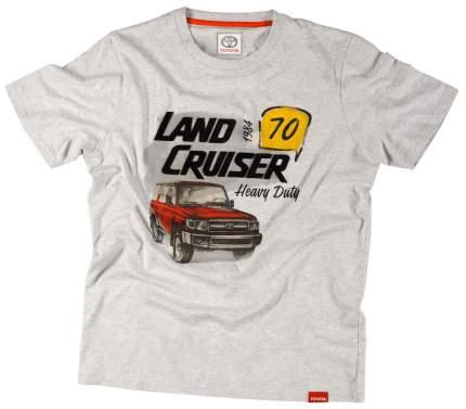 Футболка мужская Toyota Land Cruiser 70 TMHRTTCM02S Grey