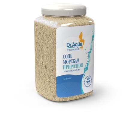 Соль морская природная Dr. Aqua 750 гр