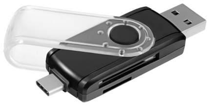 Картридер Ginzzu GR-588UB USB 3.0 Черный