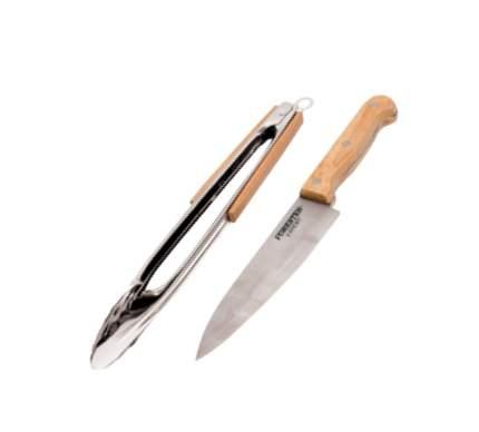 FORESTER Универсальный набор для гриля, щипцы+нож шефа