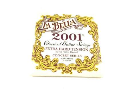 Струны для классической гитары LA BELLA 2001EH