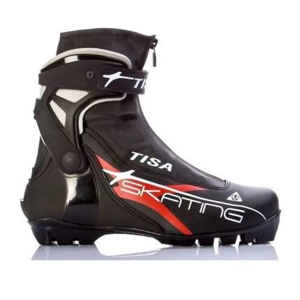 Ботинки для беговых лыж Tisa Skate S80018 NNN 2019, black, 44