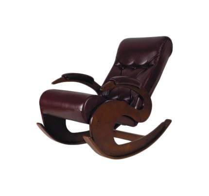 Кресло-качалка Мебелик Тенария 6 355, коричневый