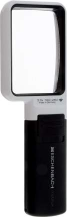 Лупа асферическая Eschenbach mobilux LED 3.5х ручная с подсветкой 75 х 50 мм