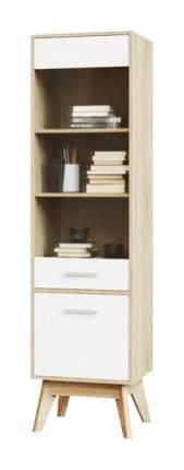 Платяной шкаф МФ Мелания MEL_2105_M1 40х50х185, белый/дуб сонома