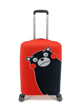 Чехол для чемодана Красный Мишка S (ручная кладь)