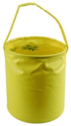 "Ведро складное AceCamp ""Laminated Folding Bucket"", желтое, 10 л"