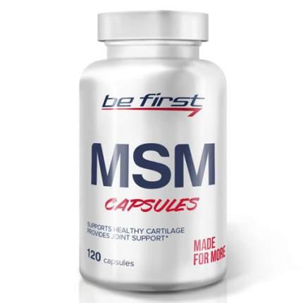 Be First MSM capsules (120 капсул) - метилсульфонилметан для суставов, против воспаления