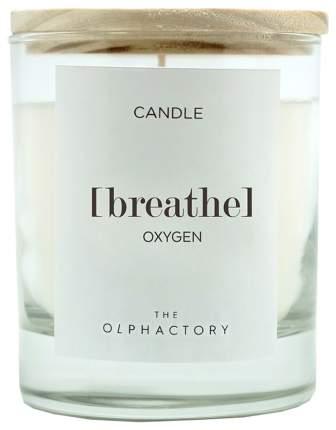 Свеча ароматическая BREATHE - Кислород, 40 ч