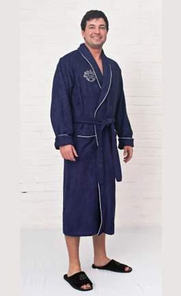 Халат мужской Five Wien Bamboo-4M синий XXXL