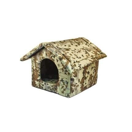Домик для собак Дарэлл Хантер-ИЗБУШКА, с подушкой, разборный, 40(49) х 40(49) х 37см