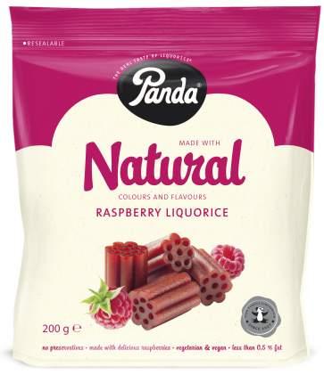 Конфеты лакричные Natural Panda со вкусом малины 200 г