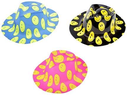 Карнавальная шляпа Смайл с выемкой. В наборе 1 Страна Карнавалия