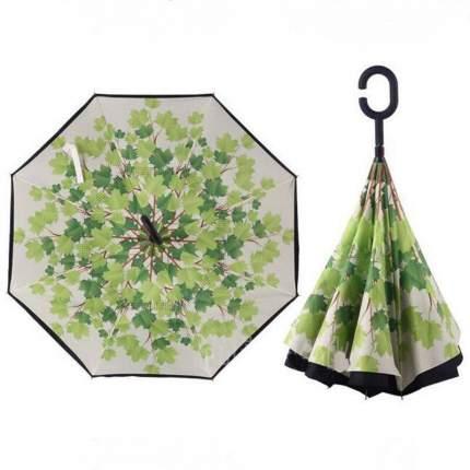Зонт-трость UpBrella Зелёные листья