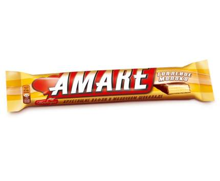 Конфета вафельная Победа Вкуса  Амаре со вкусом топленого молока в молочном шоколаде