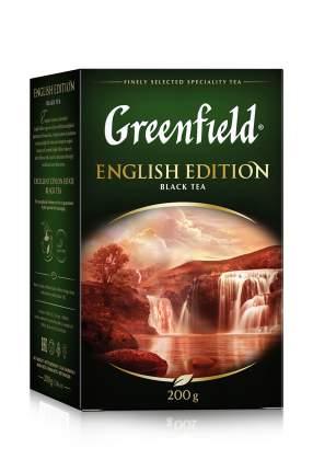 Чай черный Greenfield листовой english edition 200 г