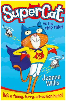 "Книга Harper Collins Publishers Jeanne W. ""Supercat vs The Chip Thief"""
