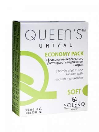 Раствор Soleko Queen's Uniyal 3 х 250 мл