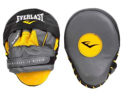 Лапы боксерские Everlast Mantis Mitts, нат. кожа