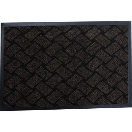Коврик влаговпитывающий, 80*120 см. КРАФТ коричневый, In'Loran, арт. 70-8122