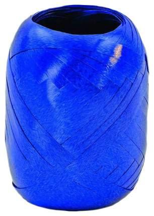 Лента, 5 мм, 20 м, кокон, синяя