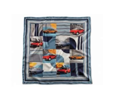 Шелковый платок BMW Classic Silk Scarf, Blue