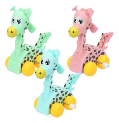 Каталка детская Наша игрушка Заводная Жираф В Ассорт Дисплей