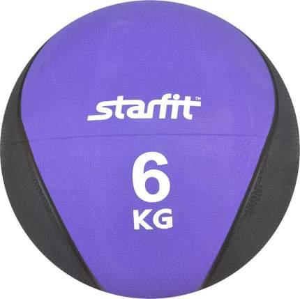 Медицинбол StarFit Pro GB-702 6 кг фиолетовый/черный