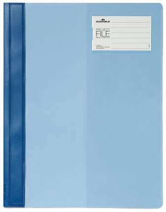 Папка-скоросшиватель Durable Project File Для проектов с кармашком Голубой