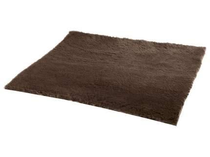 Коврик для кошек и собак Ferplast Plaza мех, коричневый, 100x75 см