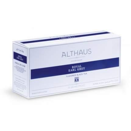 Чай черный в пакетах для чайника Althaus ройал эрл грей 20*4 г