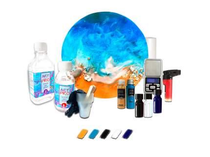 Набор для создания картины эпоксидной Resin Pro Моря и океаны (большой)