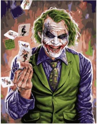Картина по номерам Paintboy PKC 43022 Джокер 30*40 Эксклюзив