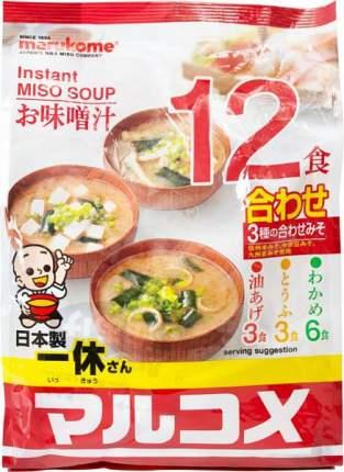 Основа для супа мисо Marukome ассорти 241.1 г