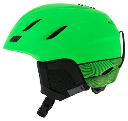 Горнолыжный шлем Giro Nine 2019, зеленый, M