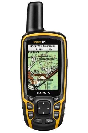 Туристический навигатор Garmin GPSMap 64 черный/желтый