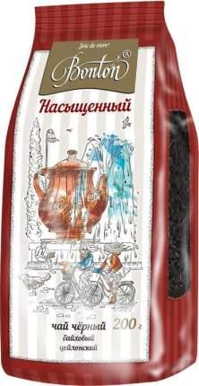 Чай Bonton насыщенный черный байховый цейлонский крупнолистовой  200 г