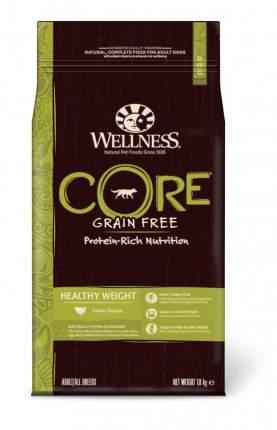 Сухой корм для собак Wellness CORE Adult/All Breeds Healthy Weight, индейка, 1,8кг