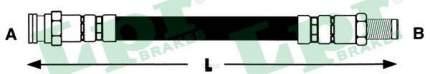 Шланг тормозной Lpr 6T47887
