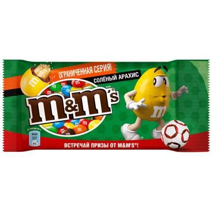 Драже M&M's соленый арахис 45 г