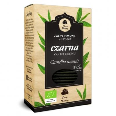 Чай черный Dary Natury цейлонский эко 25 пакетиков