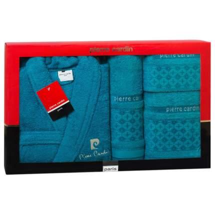 Набор халат+3 полотенца PIERRE CARDIN арт,PC 020 1185 M-L