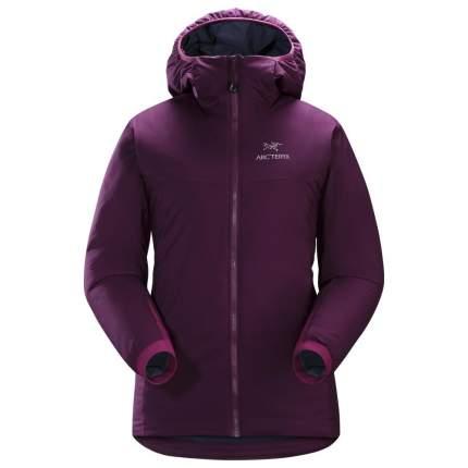 Спортивная куртка женская Arcteryx Atom AR Hoody, pomegranate, L