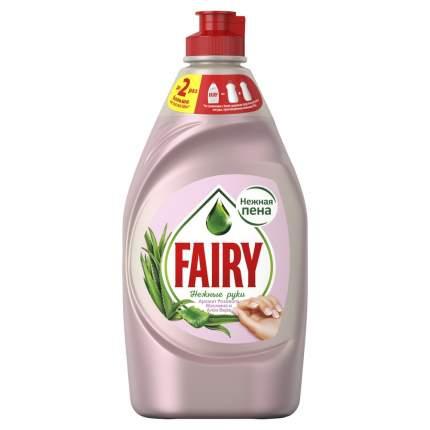 Средство для мытья посуды Fairy нежные руки розовый жасмин и алоэ вера 450 мл