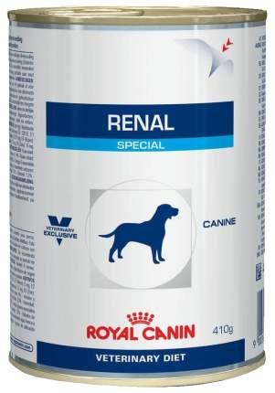 Влажный корм для собак Royal Canin Renal Special с почечной недостаточностью 410 г 12 шт
