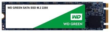 Внутренний SSD диск Western Digital Green 480GB (WDS480G2G0B)